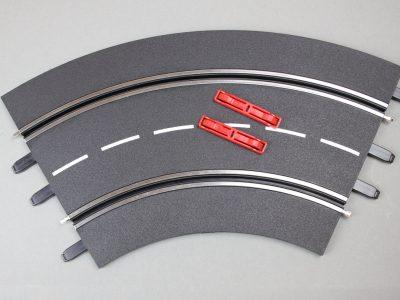 Kurve 1/60 Grad für Carrera Evolution/ Digital 132 und Digital 124 (einzeln) 20020571