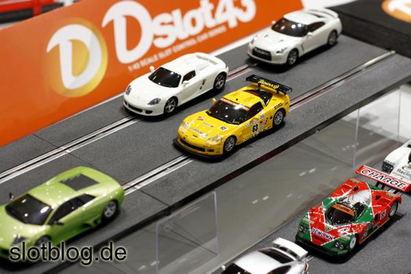 Bilder vom Kyosho DSLOT43 Debüt auf der Spielwarenmesse 2011