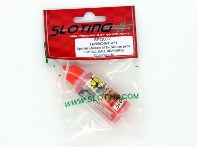 LUBBOIL Nº 1 - Spezialöl von Sloting Plus für Slotcar Kugellager SP120001