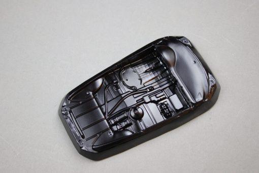 Lexan Inlay Innenraum für Carrera Digital 124 Porsche 997 GT3