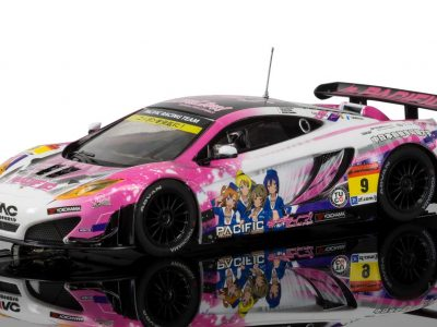 MCLAREN 12C GT3, PACIFIC RACING (ANIME) c3849