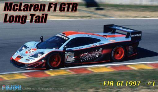 MCLAREN F1 GTR LONG TAIL LE MANS Fujimi 124 FU12595