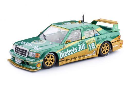 MERCEDES 190E DTM 1992 - Zolder #18 - Kurt Thiim CA44a