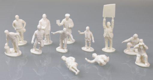 MRRC Figurensatz für die Autorennbahn - 12 Figuren