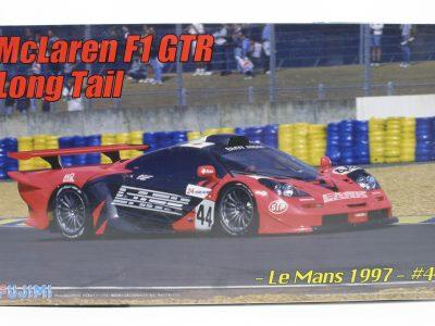 McLaren F1 GTR Long Tail Le Mans 1997 - Fujimi 124 12579