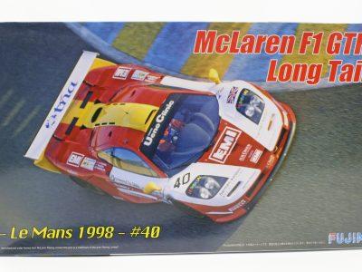 McLaren F1 GTR Long Tail Le Mans 1998 - Fujimi 124 12594