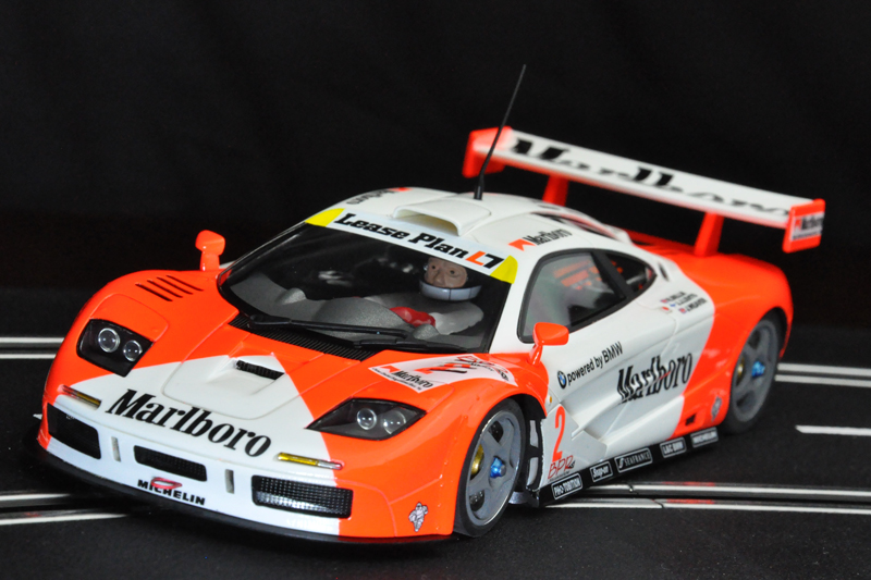 BRM Slotcar McLaren F1 GTR Marlboro Team