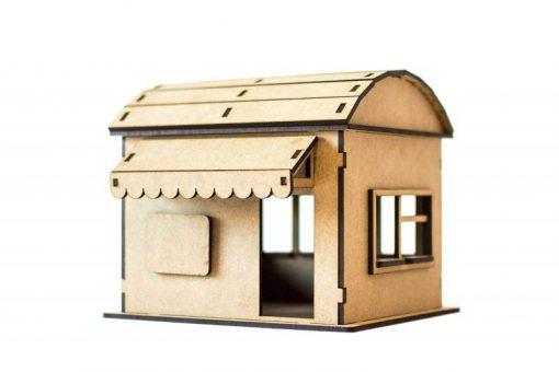Mehrzweckgebäude mit Runddach PSR0305