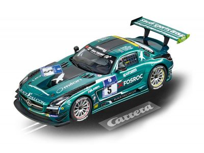Mercedes-Benz SLS AMG GT3 Black Falcon, No 5 20023876 Carrera Digital 124