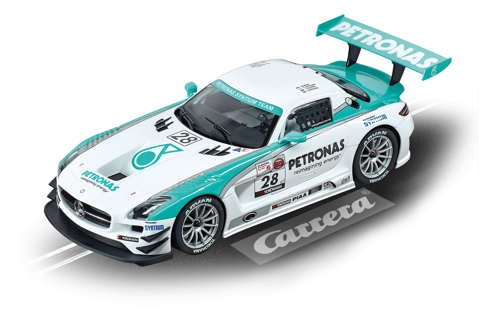 mercedes benz sls amg gt3 petronas inkl tuningteilen. Black Bedroom Furniture Sets. Home Design Ideas