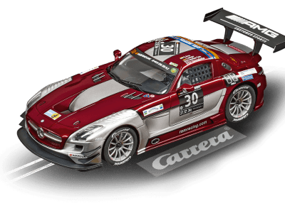 Mercedes-Benz SLS AMG GT3 Ram Racing, No.30 24h of Dubai 2015 20023864 Carrera Digital 124
