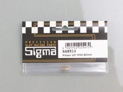 Messing Ritzel Sigma 10 Zähne M50 für 2mm Motorwellen SG8513