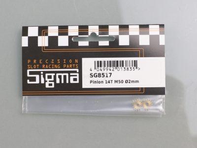 Messing Ritzel Sigma 14 Zähne M50 für 2mm Motorwellen SG8517