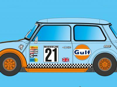 Mini Cooper Team Gulf No. 21 BRM089