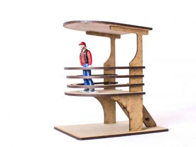 Modern Lookout building PSR0408