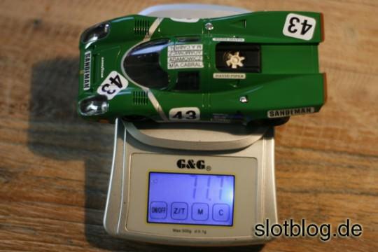 NSR Porsche 917K Gesamtgewicht