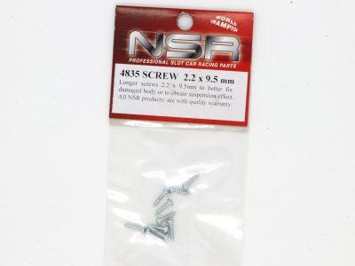 NSR Schrauben lang Screw long M2,2 x 9,5mm 4835
