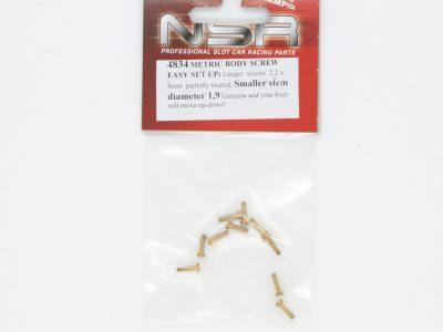 NSR Schrauben zur Karosseriebefestigung Metric Body Screw M2,2 x 8 mm - kleiner Kopf 1,9 mm 4834