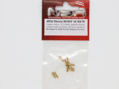 NSR Schraubenset 4836 Metric Body Screw M2,2 x 8
