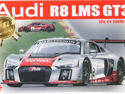 NUNU Audi R8 LMS GT3 Spa 2015 No. 1 & No. 2 in 124