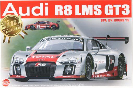 NUNU Audi R8 LMS GT3 Spa 2015 No. 1 & No. 2 in 124