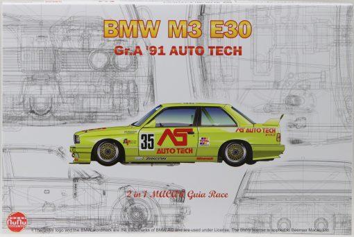 NUNU BMW M3 E30 Macau 1991 No. 18 & No. 35 in 124