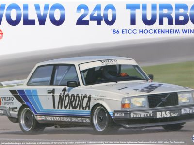 NUNU Volvo 240 Turbo Hockenheim 1986 No. 1 in 124