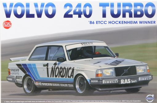 NUNU Volvo 240 Turbo Hockenheim 1986 No. 1 in 124