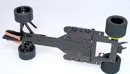 PLAFIT Komplettfahrwerk Super F1 ProRace - PF2800J unten