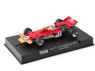 POLICAR Lotus 72 - #2 Jochen Rindt - Germany GP 1970 CAR02a