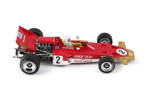 POLICAR Lotus 72 - #2 Jochen Rindt - Germany GP 1970 CAR02a Seite