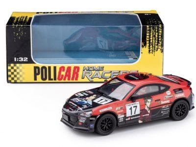 POLICAR Toyota GT86 - #17 Gazoo Racing CT01a