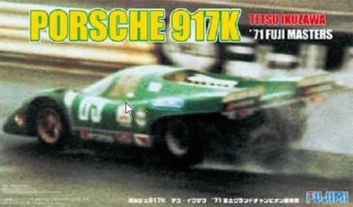 PORSCHE 917 K FUJI 1971 - Fujimi 124 FU12615