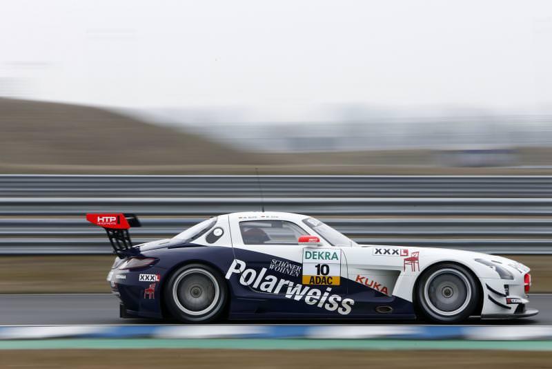 Götz/Buhk Schnellste beim ADAC GT Masters-Vorsaisontest