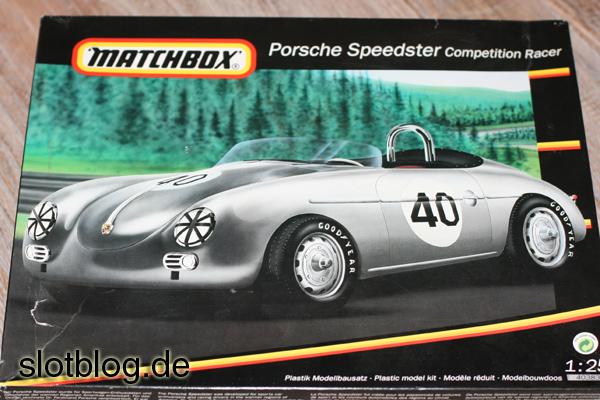 Porsche Speedster Competion Racer 1:25 von MATCHBOX