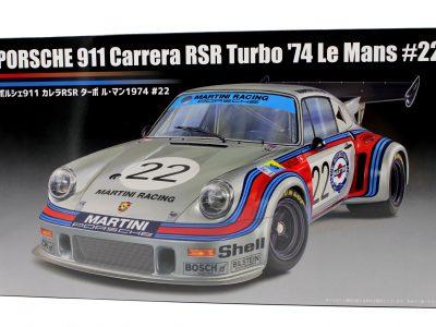 Porsche 911 Carrera RSR Turbo Le Mans 1974 #22 - Fujimi 124 12648