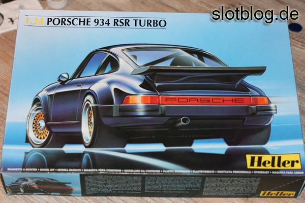 Porsche 934 RSR Turbo 1:24 von Heller
