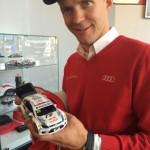 Scharf auf Rally-Autos: Mattias Ekström