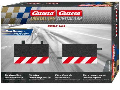 Randstreifenanschlußstück für Carrera Digital 132 Digital 124 20030358