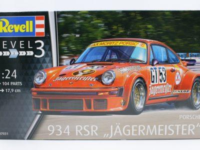 Revell Porsche 934 RSR Jägermeister in 124 07031