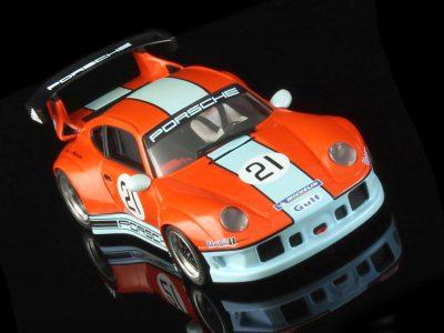 RevoSlot Pack Porsche 911 GT2 Gulf Team Nr 21