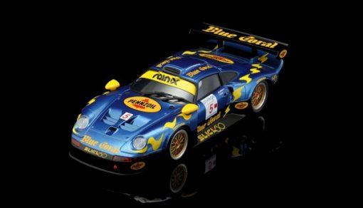 RevoSlot Porsche GT1 Team Blue Coral-Slick 1999 RS0103
