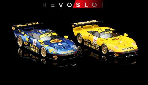 RevoSlot Porsche GT1 Twin-Pack RS0105