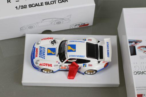 RevoSlot Porsche GT2 Gitanes Blondes (weiß) #86 RS0017