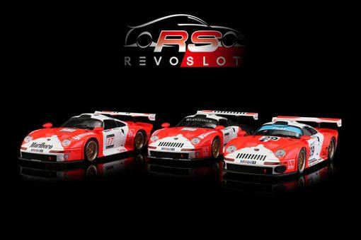 RevoSlot Triple-Pack Porsche GT1 Marlboro Special Edition RS0092