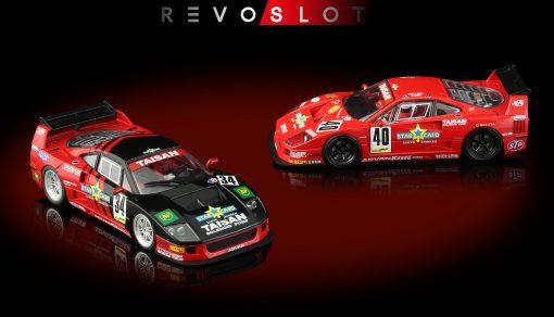 RevoSlot Twin-Pack Ferrari F40 Special Edition Box RS0099