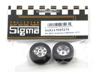 SIGMA Kompletträder Vorderräder 27,5 x 9 mm Pro Hard Moosgummi SG811708T275