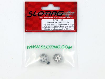 SP021124 Sloting Plus Slotcar Felge 15,9 x 10 mm UNIVERSAL