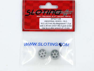 SP021128 Sloting Plus Slotcar Felge 16,2 x 8,5 mm UNIVERSAL