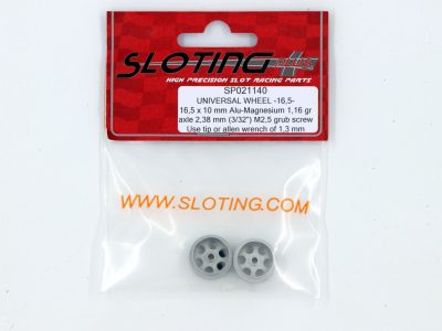 SP021140 Sloting Plus Slotcar Felge 16,5 x 10 mm UNIVERSAL
